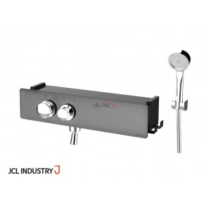 JCL 선반형 샤워수전 J ONE-1000 럭셔리 (메탈블랙)