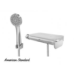 아메리칸 / 플랫 라운드 선반형 샤워욕조수전 (화이트) FB5783
