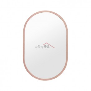 양타원 미러 / 830×530 / ABS / 핑크
